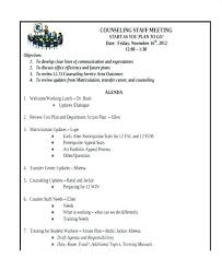 Staff Meeting Agenda | Nfcnbarroom.com