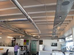 office ceilings. Exposed Ducting And Cable Trays Office Ceilings