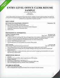 19 Beautiful Accounting Clerk Resume Bizmancan Com