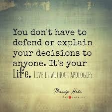 "Live Your Life Quotes Awesome Mandy Hale €�Live Your Life Without Apologies"" Inspirational"