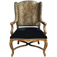 Leopard Chairs Living Room Seating Designer Accent Chairs Living Room Chairs And Chair