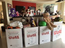 cubesmart toys for tots collection