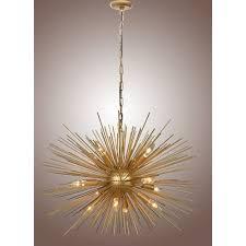 30 inch astra sputnik satellite pendant light chandelier goldceiling lights