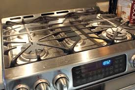 a clean gas stove is so nice to cook on and not very difficult to achieve