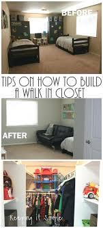 make a walk in closet