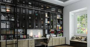 At home office Desk Luxury Home Office Library Hello Fashion Custom Home Offices Gallery Designed By Closet Factory