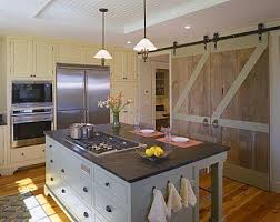 here the doors conceal the pantry in the kitchen