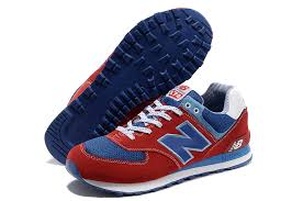 new balance shoes red and blue. new balance 574 nb unisex red blue running shoes and e