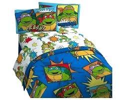 Ninja Turtle Bedding Set Nickelodeon Ninja Turtles Twin Bedding Team ...