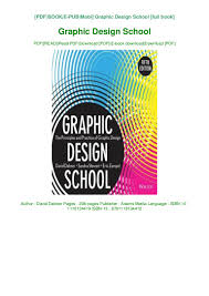 Graphic Design School Book Pdf Free Download Graphic Design School By David Dabner Ebook