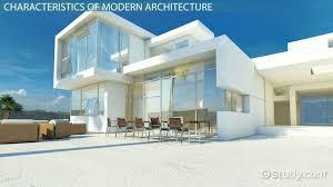 Modern Architecture: Characteristics & Style - Video & Lesson Transcript |  Study.com