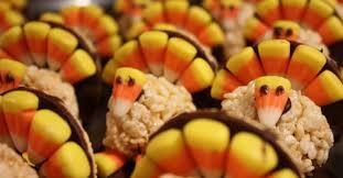 thanksgiving rice krispie treats. Wonderful Thanksgiving 10 Thanksgiving Inspired Rice Krispies Treats Inside Krispie