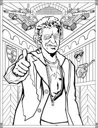 TV shows - Coloring pages for adults   JustColor