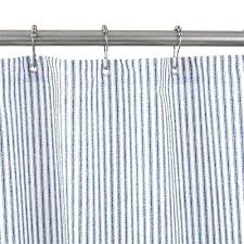 medium size of park b smith farmhouse ticking stripe shower curtain red brown overall and white