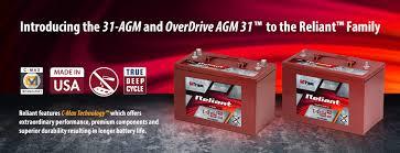 Deep Cycle Marine Battery Group Size Chart Reliant Agm Trojan Battery Company