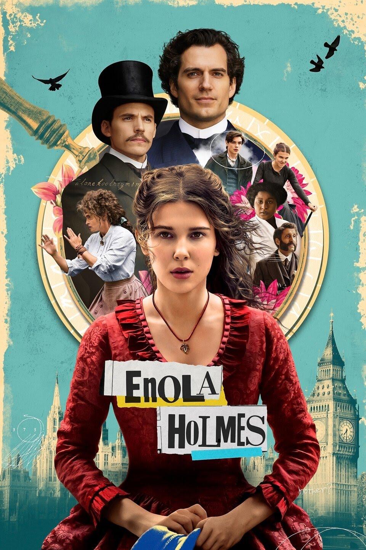 NetFlix Enola Holmes (2020)  {Hindi-English} WeB-DL 480p | 720p
