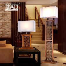 get quotations classical chinese living room floor lamp bedroom lamp bedside lamp study of solid wood carved retro