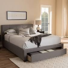 platform beds with storage. Contemporary Fabric Storage Platform Bed By Baxton Studio Platform Beds With Storage A