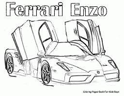 Ferrari california coloring pages photo 18
