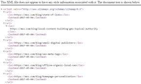 xml sitemap exle how to setup xml sitemaps