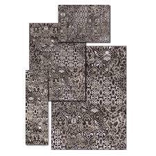 top 4 piece area rug sets alcott hill atash espresso set decorating ideas