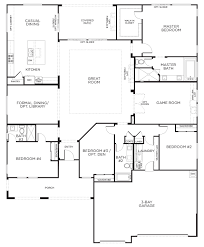 ... Valuable Ideas 1 Home Floor Plans Single Level Rectangle Single Level House  Plans On