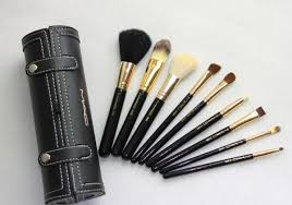 mac makeup brush set 9pcs