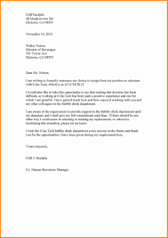 Professional Resignation Letters Professional Resignation Letter Sample Doc Creative Resume Ideas 7