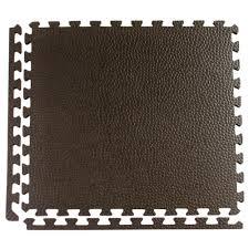 greatmats pebble top black 24 in x 24 in x 3 4 in