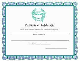scholarship certificate template download printable pdf