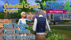 Sims 4 Get Famous: Using the Crystal Crown