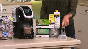 User manuals, keurig coffee maker operating guides and service manuals. Keurig 2 0 K250 Coffee Maker W 31 K Cup Packs Water Filter Starter Kit With David Venable Youtube