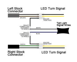 wiring diagram for motorcycle tail lights wiring basherdesigns led turn signals 4 for 20 on wiring diagram for motorcycle tail lights