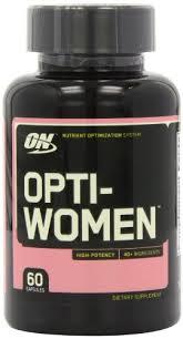 optimum nutrition opti women womens multivitamin 60 capsules 0