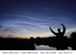 Noctilucent Clouds Form And Structure Aurora Section