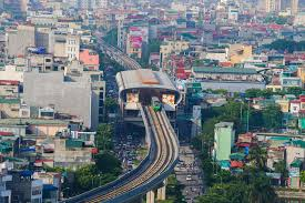 Flycam: Ngắm tàu Cát Linh- Hà Đông chạy băng băng qua phố phường Hà Nội -  Tin tức