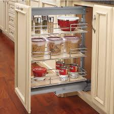rev a shelf shorty pull out pantry with maple shelves for kitchen base cabinet with free kitchensource com