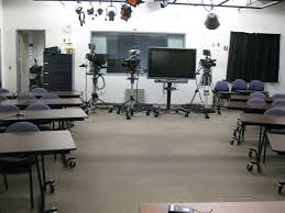 Tv studio furniture Background Design A706 tv Studio Picture B3 Studio Lecture Capture Classroom Information Acad 768 tv Studio