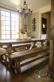 If you must ask why a dining table with bench seating is an option worth considering, here are a few advantages it offers. Diy 40 Bench For The Dining Table Shanty 2 Chic