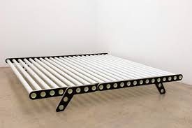 creative bed frames. Plain Bed The Bed Uses Fiberglass Reinforced Plastic Tubes That Can Be Telescoped In  Order To Adaptable Different Sizes Of The Mattress Angled Frames  And Creative Bed Frames D