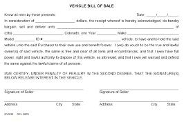 Free Auto Bill Of Sale Template Bill Of Sale Free Template Aoteamedia Com