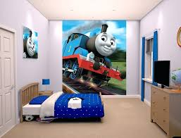 easy murals the tank engine wallpaper mural for children kids rooms wall  decal easy wall murals . easy murals easy outdoor wall ...