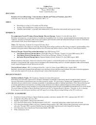 Exercise Science Resume. Stephen Lenz 2705 Oppelt Way, Turlock, CA 95380  Phone: 209-535-
