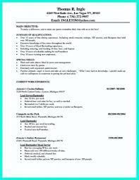 Waitress Resume Skills For Study Image Examples Resume Sample