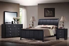 modern queen bedroom sets. Modern Black Queen Bedroom Set With 2 Bedside Tables Sets D