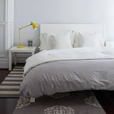 white and duvet cover grey