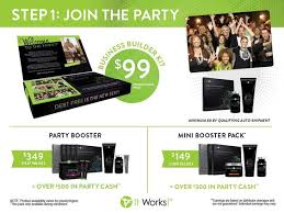 it works packs it works distributor kit starter party booster mini booster pack