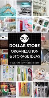 200 diy dollar organization and storage ideas