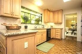 granite kitchen countertops with maple cabinets black granite white subway tile maple cabinets with honey granite