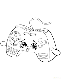 New free coloring pages stay creative at home with our latest. 18 Coloring Page Xbox Controller Shopkins Colouring Pages Cute Coloring Pages Shopkin Coloring Pages